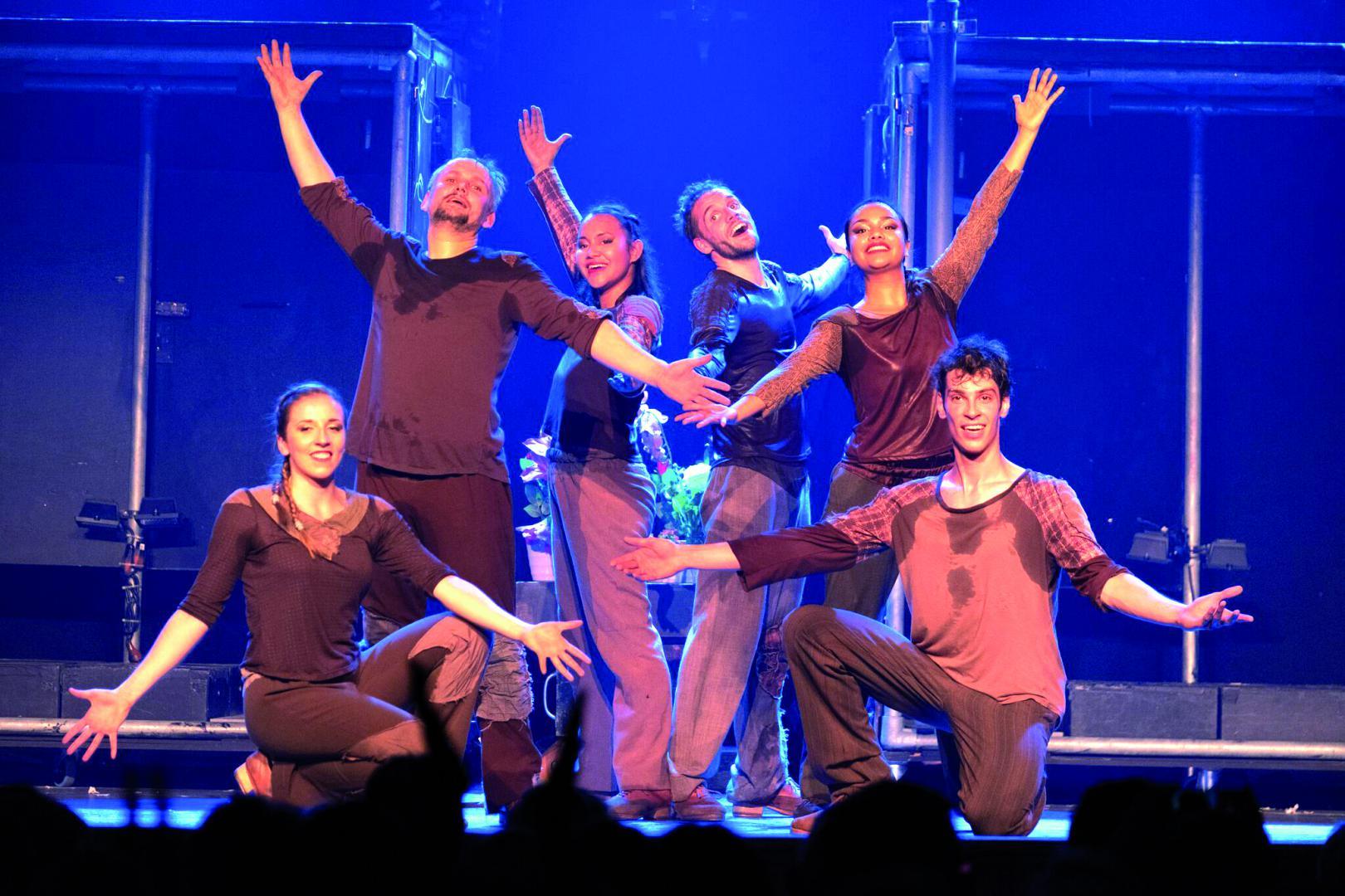 Martin's Tap Dance Company, claquettistes internationaux et